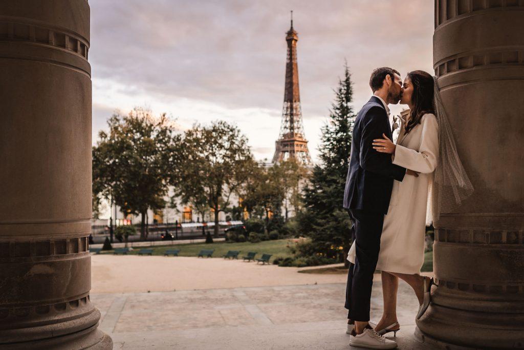 Photographe de mariage Paris France champêtre bohème chic artistique